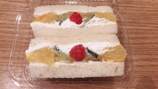 久しぶりのデザートサンド「甘夏サンド♪」